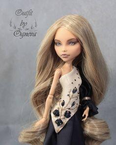 #dolls#одеждадлякукол#монстерхай #авторскаяработа#ooak#ооак #hendmade#хендмейд#monsterhigh #doll #dollclothes #everafterhigh #repaint…