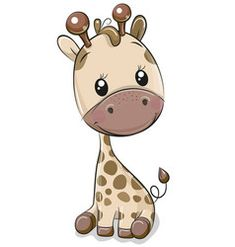 Illustration about Cute Cartoon Giraffe with balloon on a hearts background. Illustration of balloon, backgrounds, image - 122300612