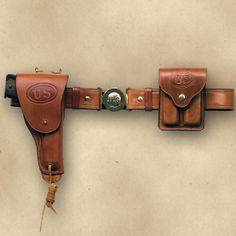 Frontier Gunleather 1911 Holster 1911 Holster, Pistol Holster, Leather Holster, Revolvers, Handgun, Firearms, Bug Out Gear, Colt 1911, Tac Gear