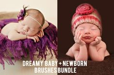 Edit your newborn sessions even faster with these presets.  Dreamy Baby + Newborn Brush Bundle for Lightroom 4 and Lightroom 5.