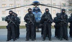 Die neue Spezialeinheit der Bundespolizei: Mitglieder der BFE+