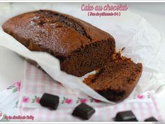 Recette Dessert : Cake moelleux au chocolat par LaDinetteDeNelly