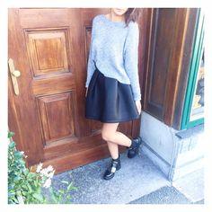Fashion Details, Skater Skirt, Skirts, Skater Skirts, Skirt, Gowns, Skirt Outfits, Petticoats