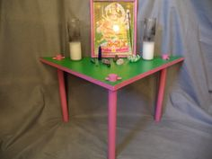 Meditation Altar Table   Mini Rustic Wooden Prayer Meditation Altar ... |  Meditation Rooms, Alters, Tables U0026 Supplies | Pinterest | Meditation Altar