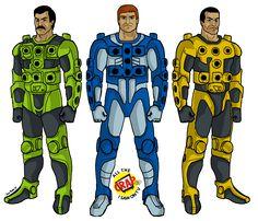The Centurions! Led by Ace McCloud! Superhero Cartoon, Superhero Kids, Old School Cartoons, 90s Cartoons, 1980s Childhood, Childhood Memories, Cartoon Tv Shows, Cartoon Art, Gi Joe