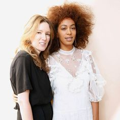 Breaking! #ClareWaightKeller is the new creative director at #Givenchy. The designer pictured here with #Solange at her last show for #Chloe will be the first woman to design for the house since its inception in 1952.  via ELLE CANADA MAGAZINE OFFICIAL INSTAGRAM - Fashion Campaigns  Haute Couture  Advertising  Editorial Photography  Magazine Cover Designs  Supermodels  Runway Models