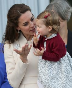 Kate Middleton Photos Photos - Catherine, Duchess of Cambridge and Princess Charlotte wave leave from Victoria Harbour to board a sea-plane on the final day of their Royal Tour of Canada on October 1, 2016 in Victoria, Canada. The Royal couple along with their Children Prince George of Cambridge and Princess Charlotte are visiting Canada as part of an eight day visit to the country taking in areas such as Bella Bella, Whitehorse and Kelowna - 2016 Royal Tour To Canada Of The Duke And…