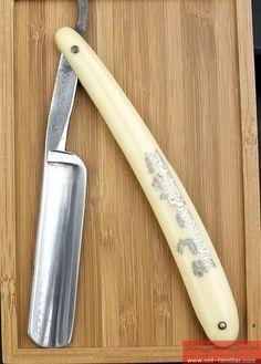 Best Silberstahl Rasiermesser ,straight razor, coupe choux,