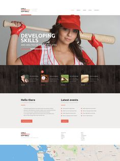 Website Theme , Sport