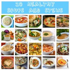 Healthy soups and Stews . the 20 Best Ideas for Healthy soups and Stews . Best Fall soups and Stews Recipes Natalie S Food & Health Crockpot Recipes, Soup Recipes, Healthy Recipes, Healthy Soups, Recipies, Mexican Food Recipes, Nacho Recipes, Soup And Salad, Soups And Stews