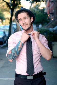 Tattooed gentleman. #tattoo #tattoos #ink