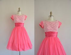 1950s vintage dress / 1950s 50s dress by simplicityisbliss on Etsy, $224.00