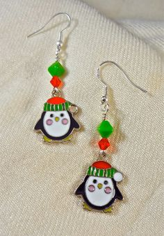 Adorable Penguin Earrings!!!
