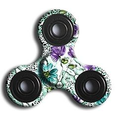 Hand Fidget Spinner,Omiky® Milky Galaxy Tri Fidget Spinner Aluminium Alloy Finger Groy Toy for SBDX ADD ADHD Anxiety Autism Suffers (# B): Amazon.co.uk: Toys & Games