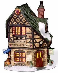 Department 56 Dickens Village E Tipler Agent for Wines Spirits | eBay