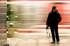 Lost In Train Station by lapoutre2tek, via Flickr