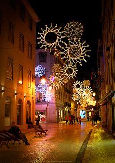 Christmas in Lisbon, Portugal