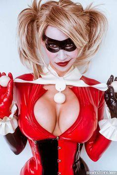 Harley Quinn COSPLAY latex Bianca Beauchamp
