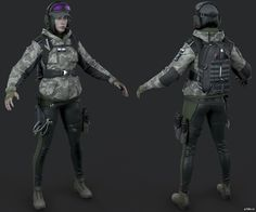 Ela » Pack 3D models 3d Model Character, Character Modeling, Game Character, Character Design, Rainbow Six Siege Art, Rainbow 6 Seige, Zbrush, Siege Operators, Tactical Armor