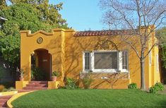 spanish colonial bungalow | Spanish Houses in the Northern United States - Spanish Eclectic ...