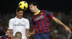 Barça y Madrid tendrán que desempatar. Barca y Madrid se enfrentarán por 7a. vez en su historia.   Ambas escuadras han ganado 3 cada una.