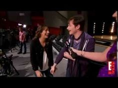 In my opinion, Lea Michele has the most contagious laugh of everyone in the cast of glee ;)