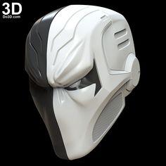 Printable Helmets – Page 4 Deathstroke, Suit Of Armor, Body Armor, Armadura Ninja, Red Hood Cosplay, Nightwing Cosplay, Gents Kurta Design, 3d Printing Industry, Ajin Anime