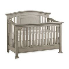 product image for Kingsley Brunswick 4-in-1 Convertible Crib in Ash Grey
