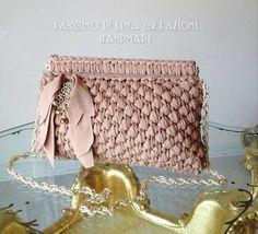 Crochet Clutch Bags, Crochet Wallet, Bag Crochet, Crochet Handbags, Crochet Purses, Crochet Yarn, Diy Purse Making, Mode Crochet, Cat Fabric