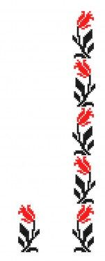 Poze FL198 Cross Stitch Boarders, Cross Stitching, Embroidery Hoop Art, Cross Stitch Embroidery, Knitting Charts, Loom Beading, Body Painting, Diy And Crafts, Sewing