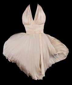 1955. Debbie Reynolds owns this piece. marilyn monroe worth two million. Movie 'Seven Year Itch'