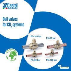 #Castel #CO2 #Products #refrigeratingSystem #refrigeration #ballvalves #icastel #CO2Application #greenline