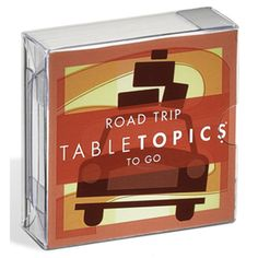 Road Trip Tabletopics $9