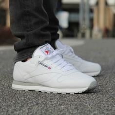 buty reebok classic leather white womens