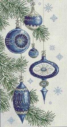 New Free of Charge Cross Stitch embroidery Strategies Christmas balls cross stitch Xmas Cross Stitch, Cross Stitch Christmas Ornaments, Cross Stitch Alphabet, Christmas Embroidery, Modern Cross Stitch, Christmas Cross, Cross Stitch Charts, Counted Cross Stitch Patterns, Cross Stitch Designs