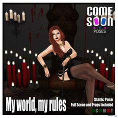 My World My Rules Pose Group Gift by Come Soon Poses