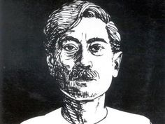 Munshi premchand pencil sketch