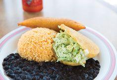 Arepas from Empanada Madness Kansas City