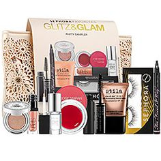 Sephora Favorites Glitz & Glam kit $45 Get 10% cash back http://www.stackdealz.com/deals/Sephora-Coupons--amp--Discounts--/