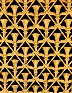 Art Deco Grill Detail Waldorf Astoria Hotel NYC