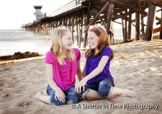 Professional Photographer | Portraits at the Beach | Sisters