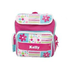 This personalised girl's Gelati Allsorts backpack is a great all rounder for school, after school sports and sleepovers. Your child is never going to lose this bag. FEATURES * Material 100% polyester * Adjustable shoulder strap * Top zip opening * Side water bottle holder  * Velcro flap * Front pocket (with name) * Two side pockets * Personalisation maximum of 12 characters * Personalisation via Heat Press * Dimensions: 36cmH x 32cmW x 16cmD www.yayme.com.au/christinen
