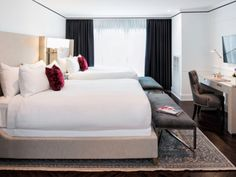 Why do so many of Washington's newly renovated hotel rooms look so much like one another?