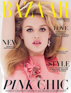 Georgia May Jagger for Harper's Bazaar Malaysia - October 2015 via @HoneymoonBell #harpersbazaar