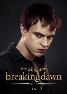 "Erik Odom,  Peter the Nomad in The Twilight Saga: Breaking Dawn – Part 2    On Twilight Fandemonium: ""It's the passion of the fanbase. You know, you have these people who are so enthusiastic about it that they'll go see the movie over and over again."" -        CBS Detroit"