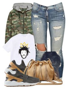 """""""Untitled #598"""" by b-elkstone ❤ liked on Polyvore featuring NIKE and Diane Von Furstenberg"""