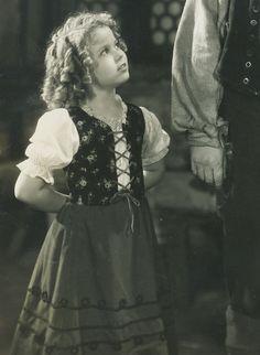 Shirley Temple in Heidi, 1937.