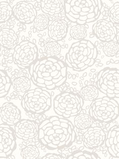Removable wallpaper - Hygge & West   Petal Pusher (Taupe/White) Tile