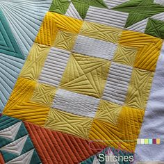 Piece N Quilt: How to: Free Motion Quilt Spinning X Block - Sunday Stitches