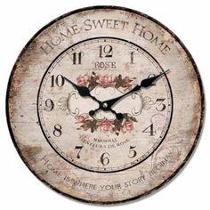 Antique Vintage Shabby Chic Home Sweet Home Wall Clock , http://www.amazon.com/dp/B0089X6A2C/ref=cm_sw_r_pi_dp_qdTvqb13KFS2T